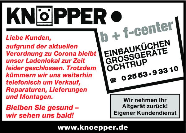 Knöpper - Hausgeräte
