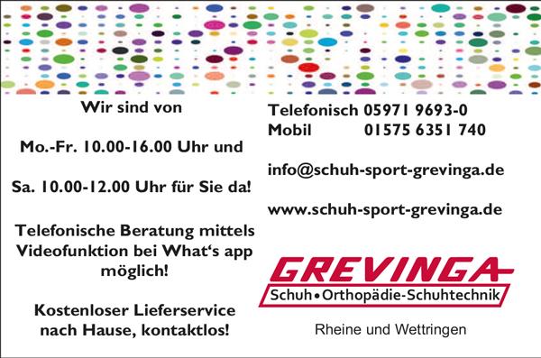 Grevinga, Schuh & Sport