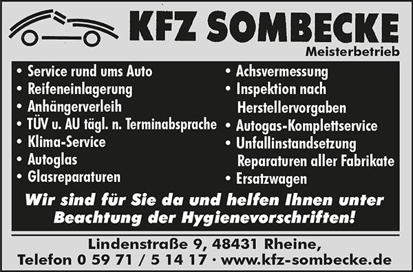 KFZ Sombecke